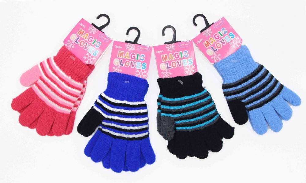 Kids girls funky gloves thermal gloves girls GL701359